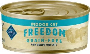 Blue Buffalo Freedom Indoor Adult Fish Recipe Grain-Free Canned Cat Food