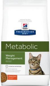 Hill's Prescription Diet Metabolic Weight Management Chicken Flavor Dry Cat Food