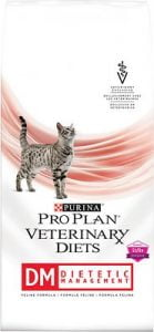 Purina Pro Plan Veterinary Diets DM Dietetic Management Formula Dry Cat Food