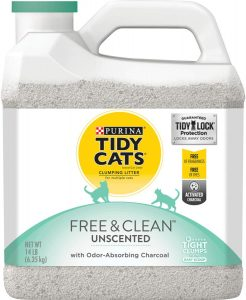 Purina Tidy Cats Free & Clean Clumping Cat Litter