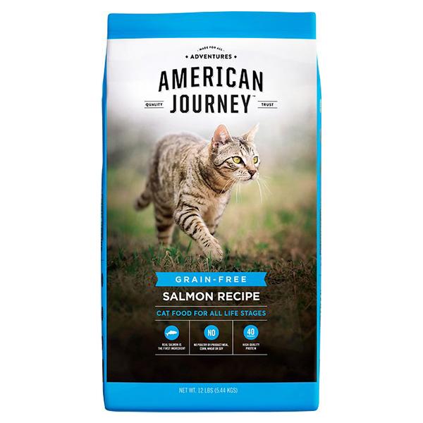 American Journey Salmon Recipe Grain-Free Dry Cat Food