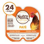 Nutro Perfect Portions Grain-Free Chicken Paté Recipe Cat Food Trays, 2.6-oz, case of 24 twin-packs