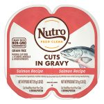 Nutro Perfect Portions Grain-Free Cuts in Gravy Salmon Recipe Cat Food Trays, 2.65-oz, case of 24 twin-packs