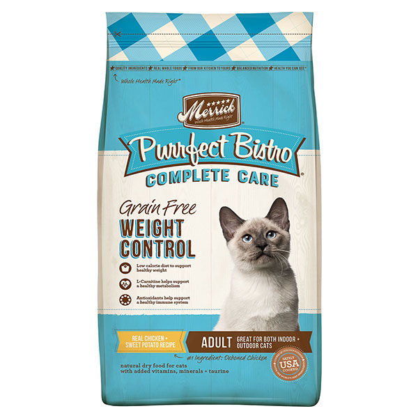 Merrick Purrfect Bistro Grain-Free Healthy Weight Recipe Dry Cat Food