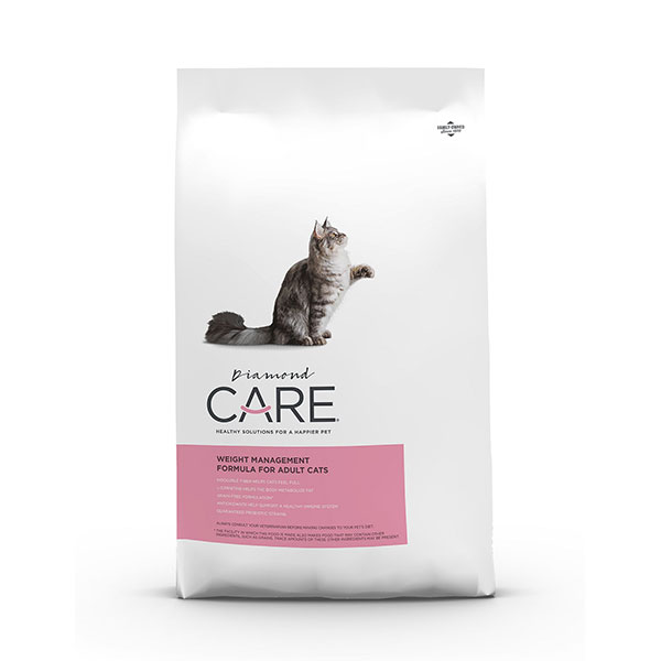 Diamond Care Weight Management Formula Adult Grain-Free Dry Cat Food