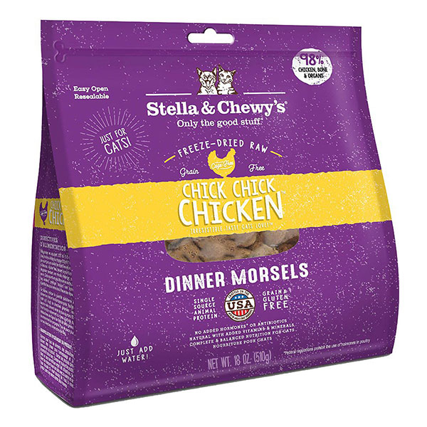 Stella & Chewy's Chicken Dinner Freeze Dried Raw Morsels