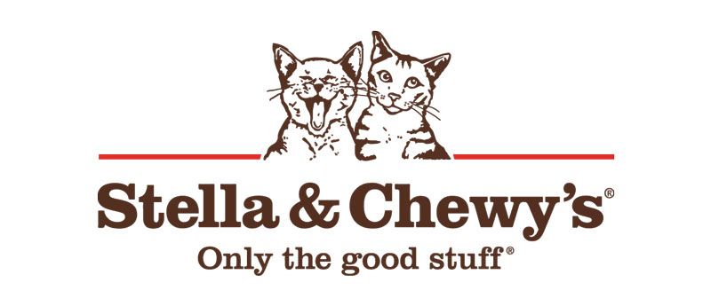Stella and Chewys cat food logo