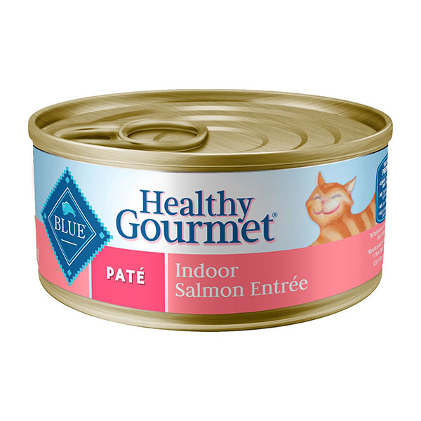 Blue Buffalo Healthy Gourmet Pate Salmon Entree Indoor Adult Canned Cat Food