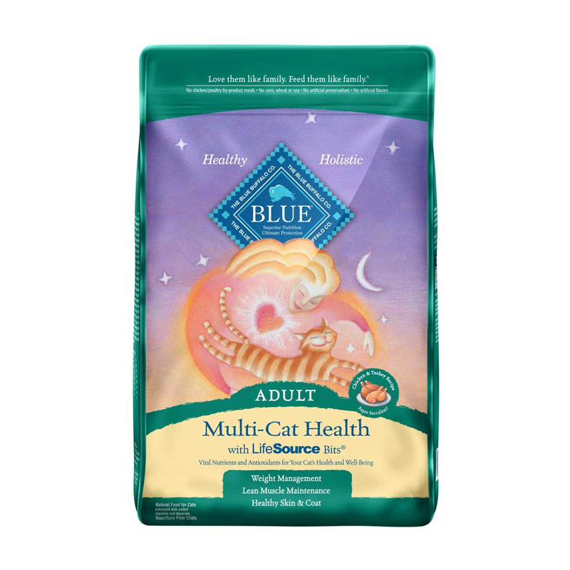 Blue Buffalo - Multi-Cat Health Chicken & Turkey Recipe
